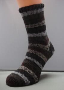 Sok grove sokkenwol