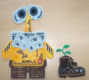Wally met schoen (te koop, zie webshop, applicaties)