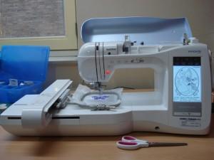 Mijn borduurmachine Ripley