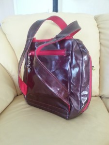 Handtas achterkant