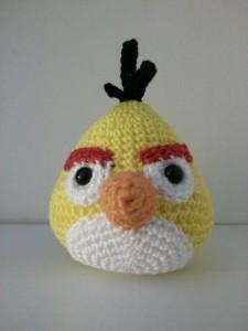 yellow angry bird €11,95