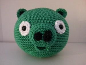 Angry bird pig (te koop, zie webshop)