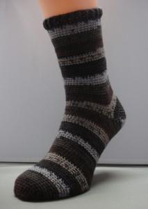 Sok grove sokkenwol (patroon te koop, zie webshop)