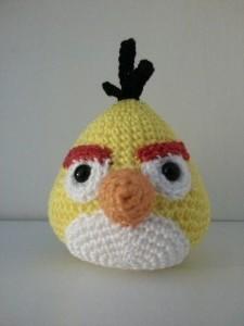 Yellow angry bird (te koop, zie webshop)